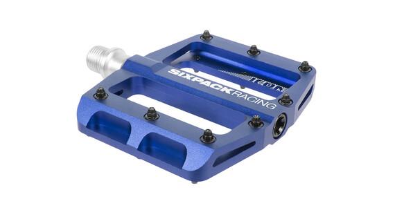 Sixpack Icon mini - Pédales - bleu